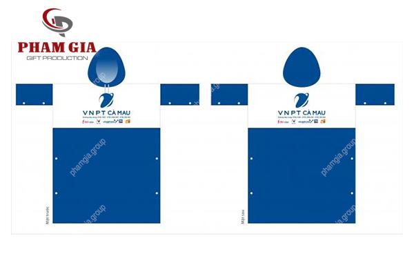 dịch vụ in logo lên nhựa- in logo lên áo mưa