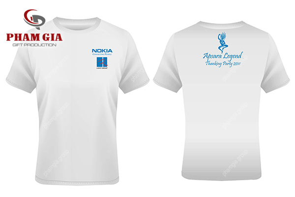 Xưởng in áo thun logo Nokia